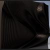 Стенка волной, из фанеры в 10 мм толщины, размеры стенки - 2х3 метра, параметрическая модель.