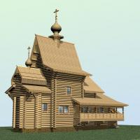 Храм  в Талицах