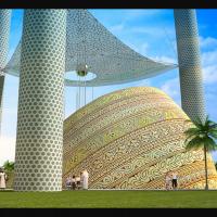 "Конкурсный проект ""Tall emblem structure Dubai"""