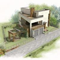 Индивидуальный жилой дом, г. Оренбург
