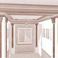 интерьер холла