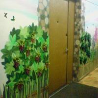 Роспись холла в Братеево