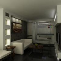 Комната отдыха (цокольный этаж)