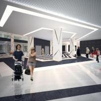 Дизайн проект торгового центра в г. Ташкент