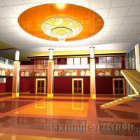 Концепт интерьера центрального фойе Краснодарского краевого театра кукол
