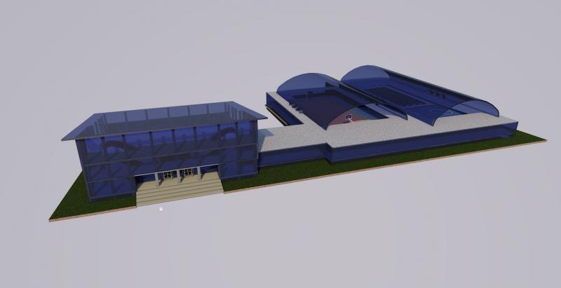 Проект культурно-спортивного центра