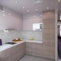 Проект интерьера квартиры. Кухня