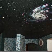 Художественные натяжные потолки Черутти с арт-печатью