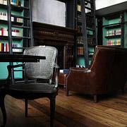 Новый объект в портфолио LETO - «Старинная библиотека»
