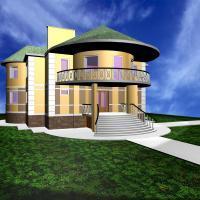 Двухэтажный жилой дом
