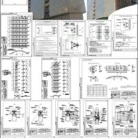 Проект витражей бизнес-центра в г.Новосибирск